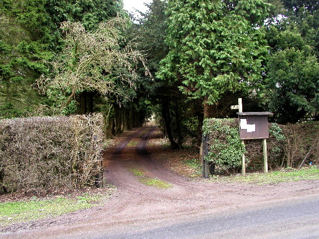 The track to Lowthorpe Church