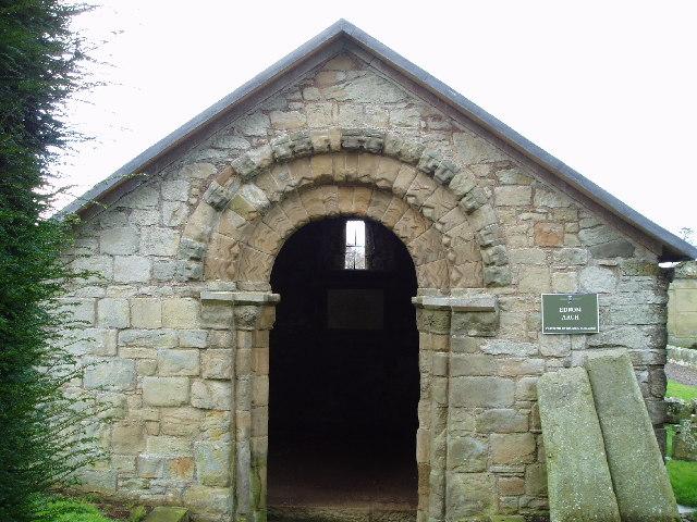 Edrom Norman Arch, Berwickshire