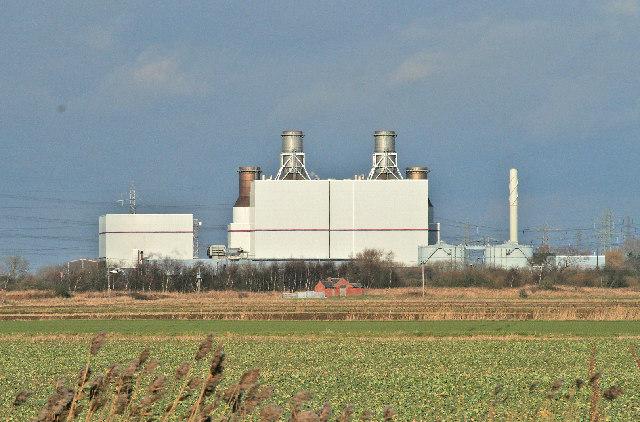 Keadby Gas Fired Power Station
