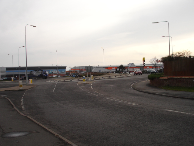 Glyne Gap Roundabout Bexhill on Sea East Sussex