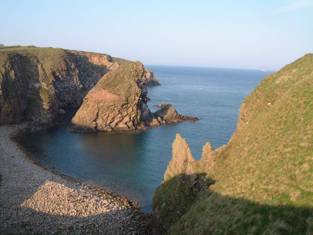 North Haven nr Bullers of Buchan, Aberdeenshire
