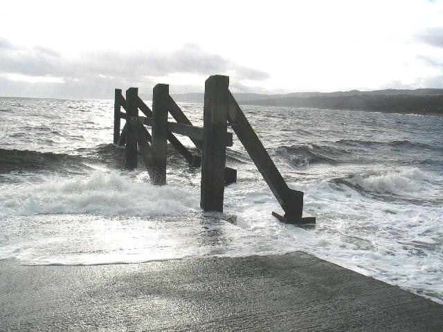 Claonaig Ferry Slipway, Kintyre.