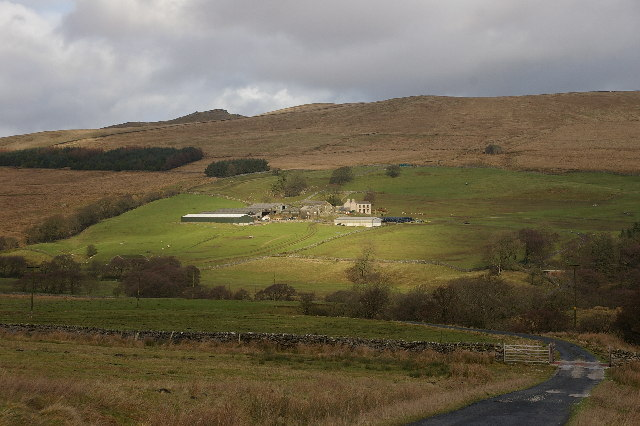 Catlow Farm Forest of Bowland