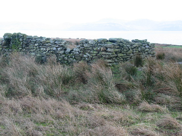 Old sheep shelter at Oragaig.