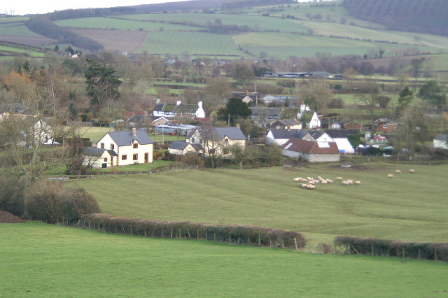 Colebatch from the Shropshire Way