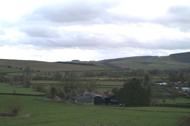 Star Farm, near Colebatch, on the A488