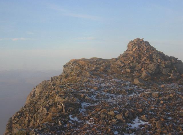 Summit of Stob Coire Sgiodain
