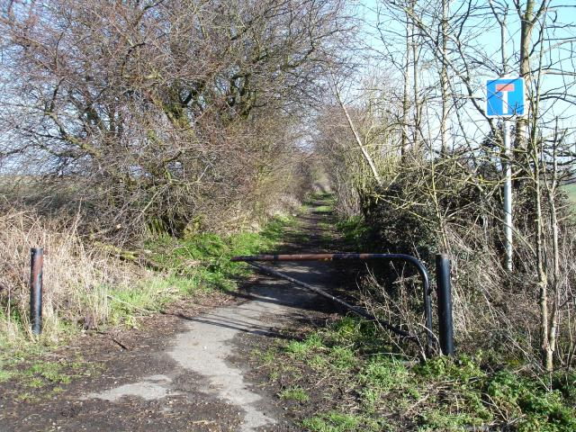 Green lane near Stockbury