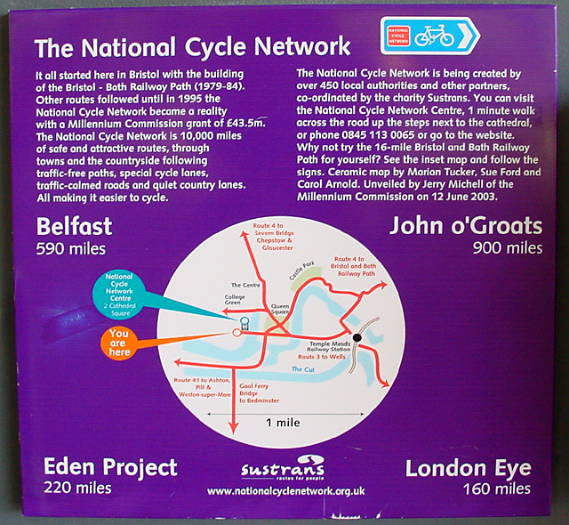 National Cycle Network - Information Panel