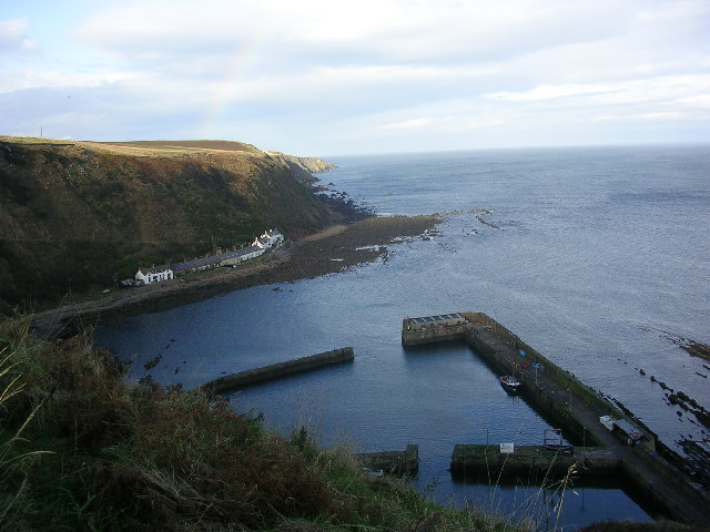 Burnmouth Harbour