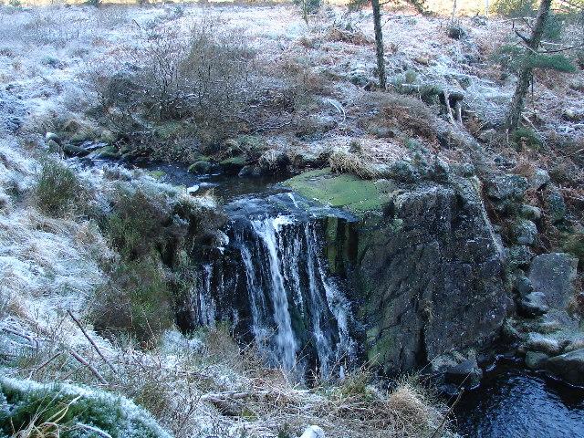 Pistyll Gwyn Waterfall