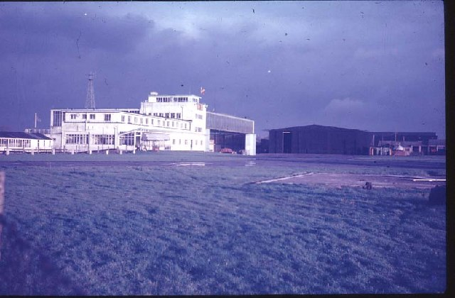 Manchester Airport when it was Ringway Airport