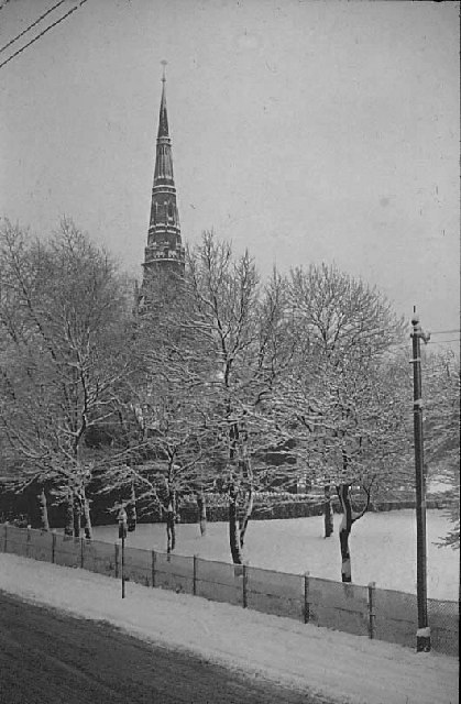 Church in Platt Fields Park.