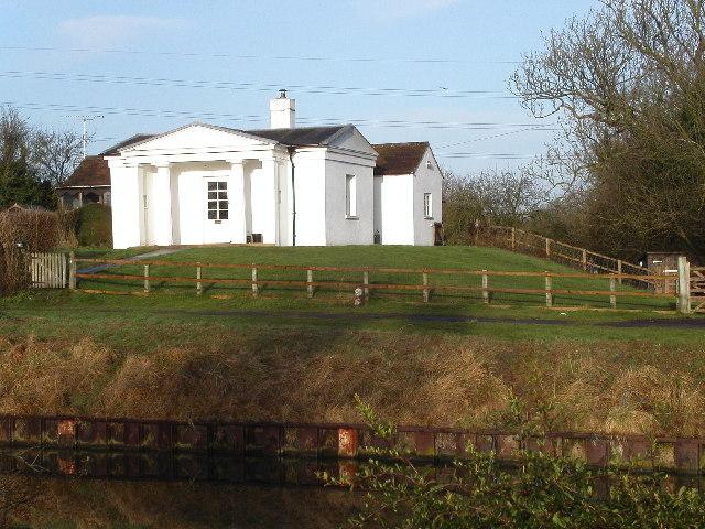 Bridge-keeper's cottage G & S canal near Hardwicke