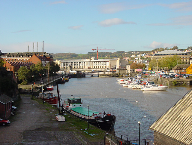 Floating Harbour and Prince Street Bridge