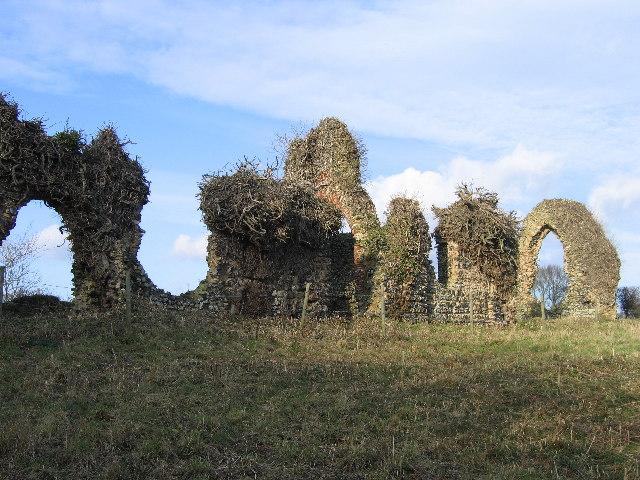 Ruins of St Saviours Church, Surlingham