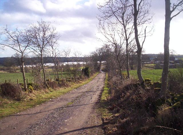 Track to Gowanhead