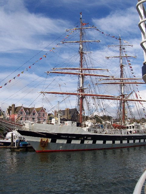 Training ship  'Prince William'
