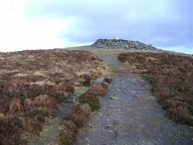 Summit of South Barrule, Isle of Man