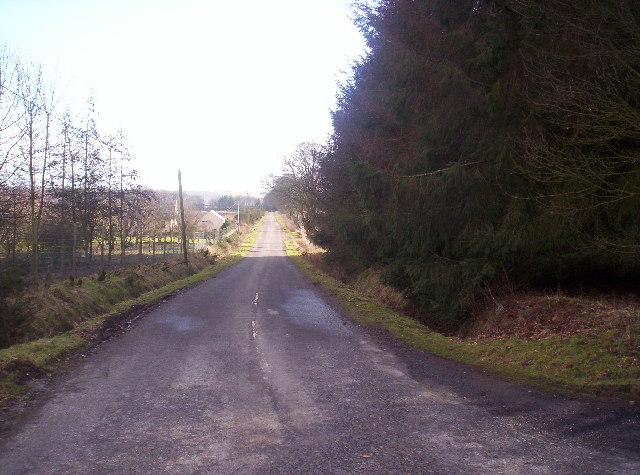 Road to Renmure and Pamphry