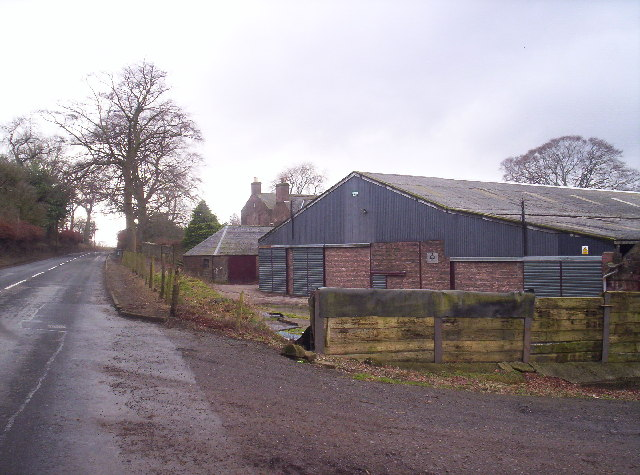 Carcary Dairy Farm and A934