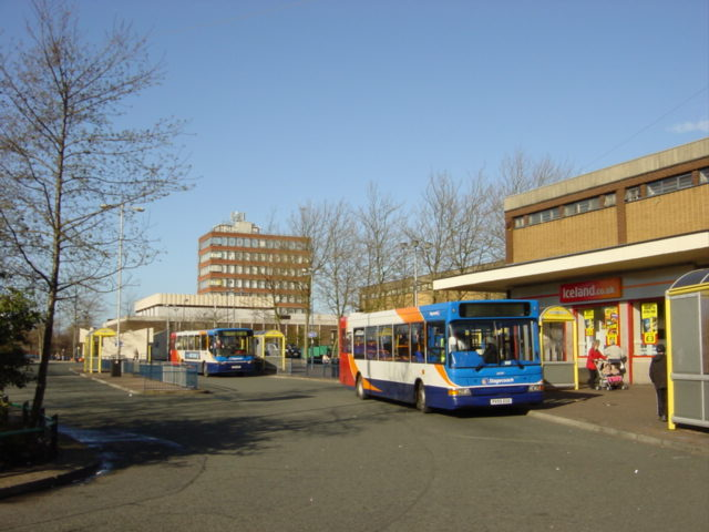 Kirkby Bus Station
