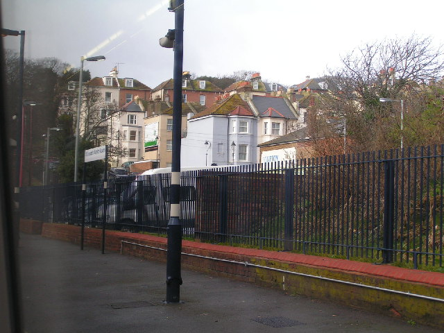 Houses from St Leonards Warrior Square Station