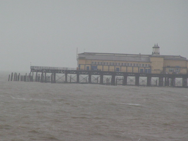 The end of Hastings Pier
