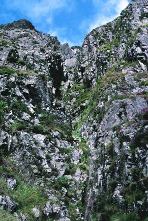 Great Gully, Pavey Ark