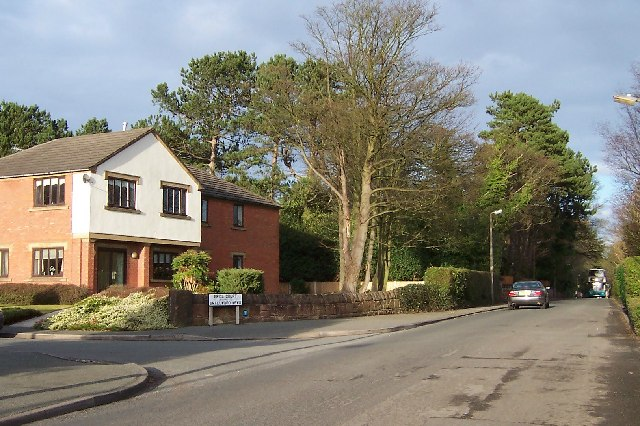 Corner of Quarry Road East and Erica Court, Heswall