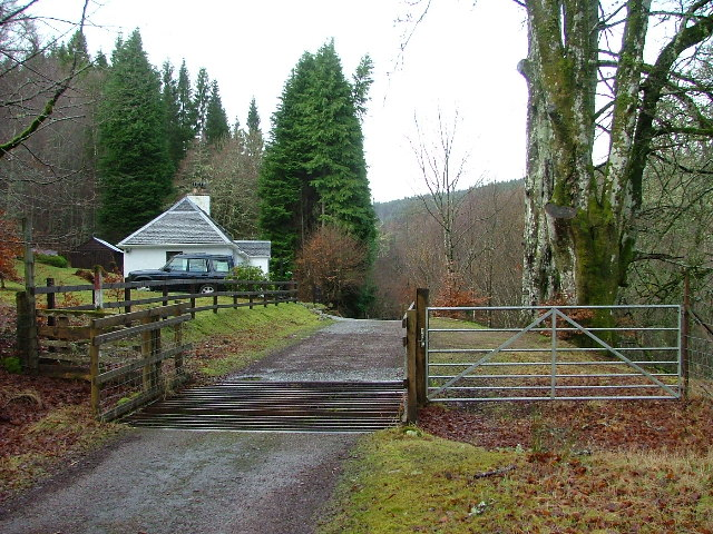 Gatehouse at Wester Mandally