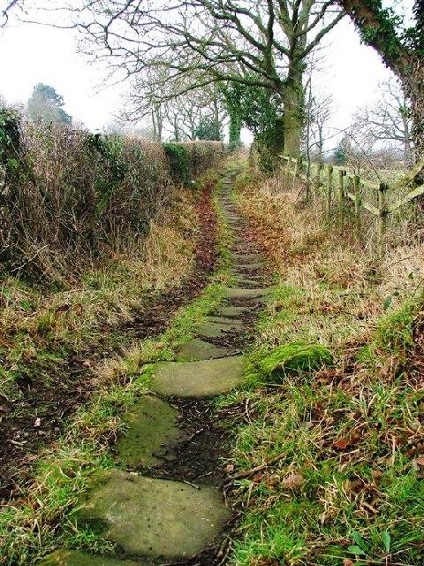 Public Bridleway From Newbiggin Hall Farm ...