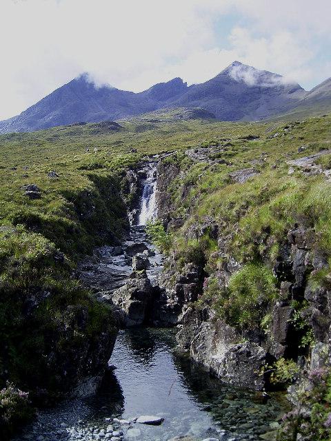 Waterfall on the Allt Dearg Beag