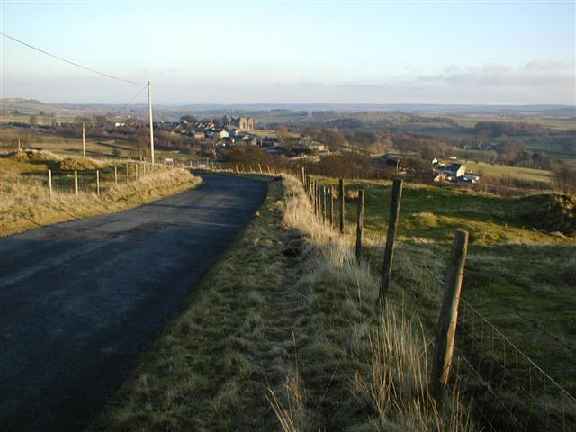 View From Clint Top Towards Brough