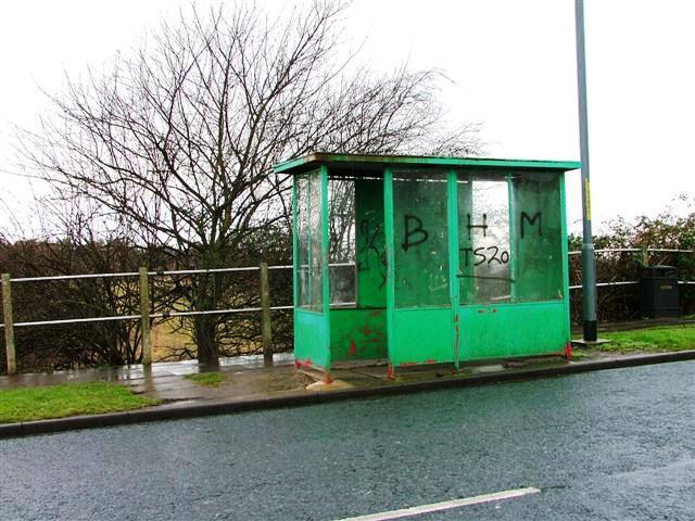 Bus Stop, Green's Lane