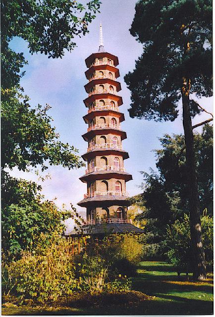 The Pagoda, Kew Gardens.