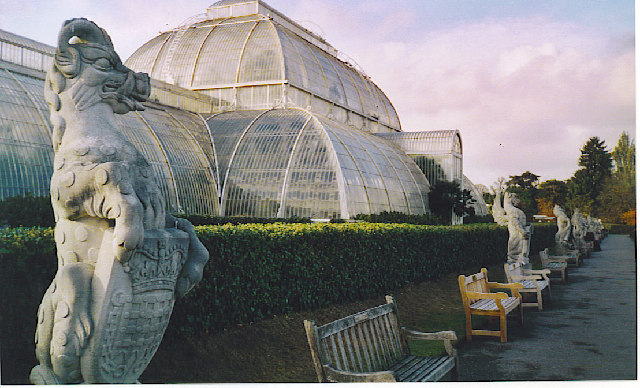 The Great Palm House, Kew Gardens.