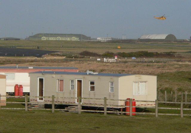 Caravans and Aircraft, Rhosneigr.
