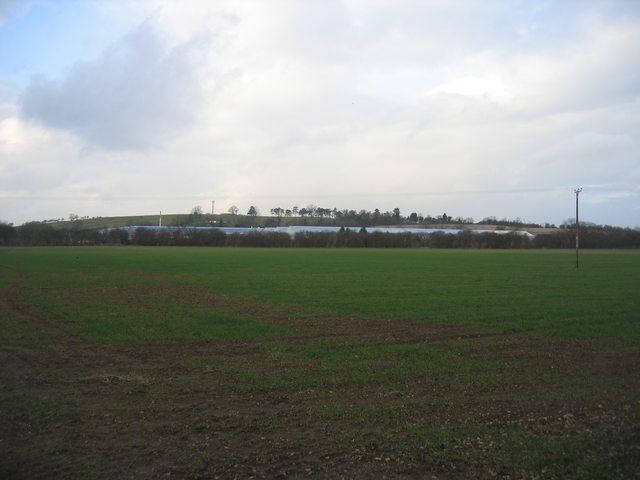 View towards Bordon Hill