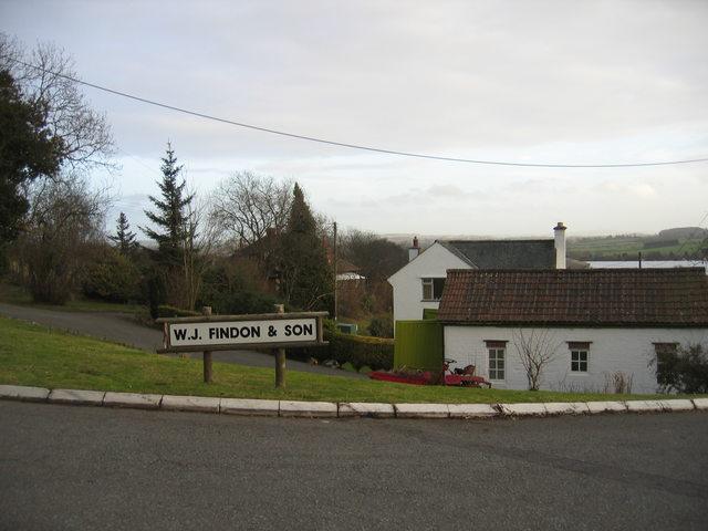 Entrance to Bordon Hill Nurseries