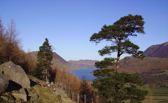 Crummock Water from slopes of Red Pike