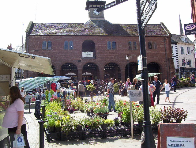Ross on Wye, Market hall