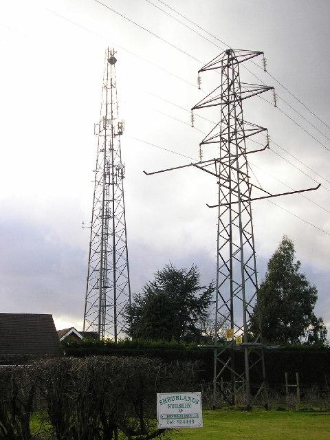 Radio mast and pylon