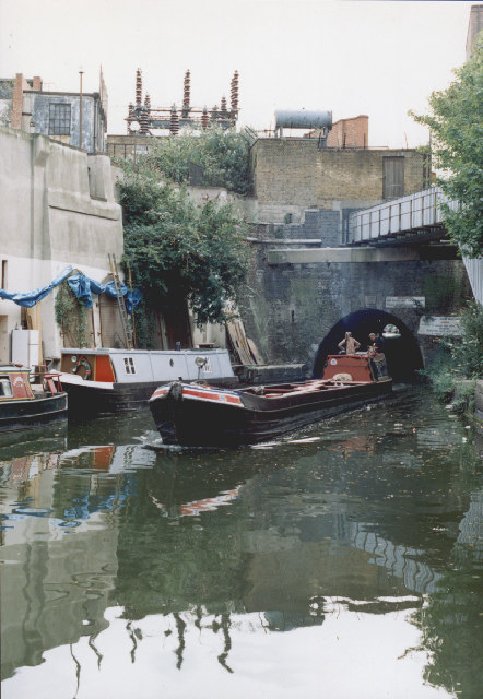 Working Narrowboat