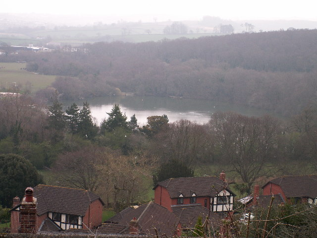 Decoy Lake from Wolborough Hill