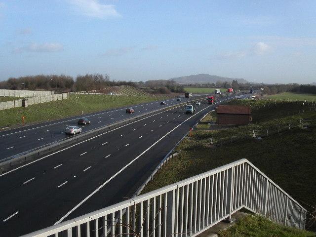 Jct.12 M5 south Gloucester interchange