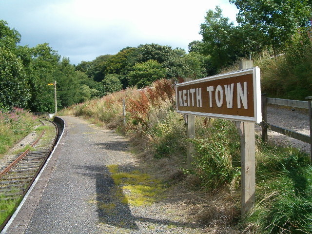 Keith Town looking north towards Keith Station