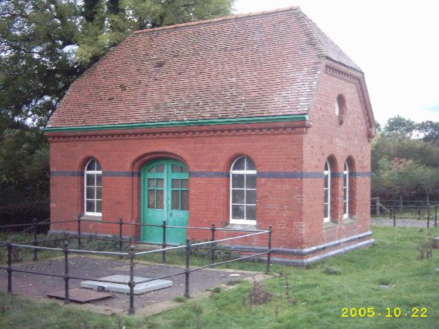 Cefn y Braich valve house