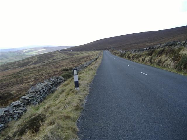 Road on East side of Cronk ny Arrey Laa