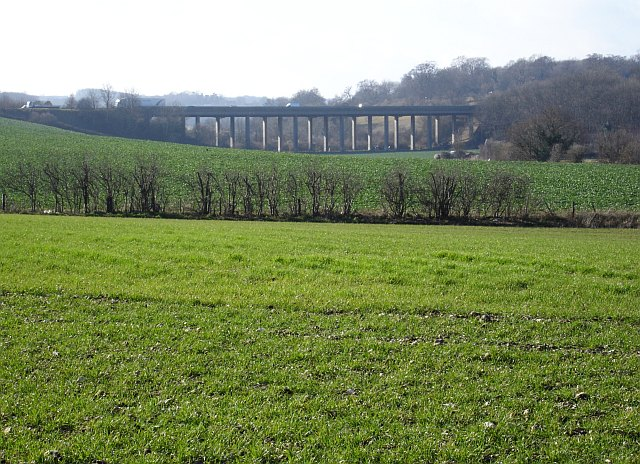 M2 viaduct over Mount Lane, Hartlip